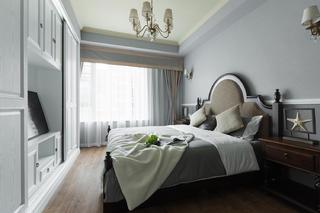 美式二居装修卧室设计图
