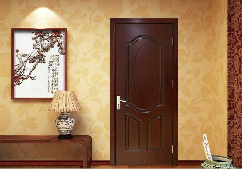 实木复合烤漆深雕工艺门
