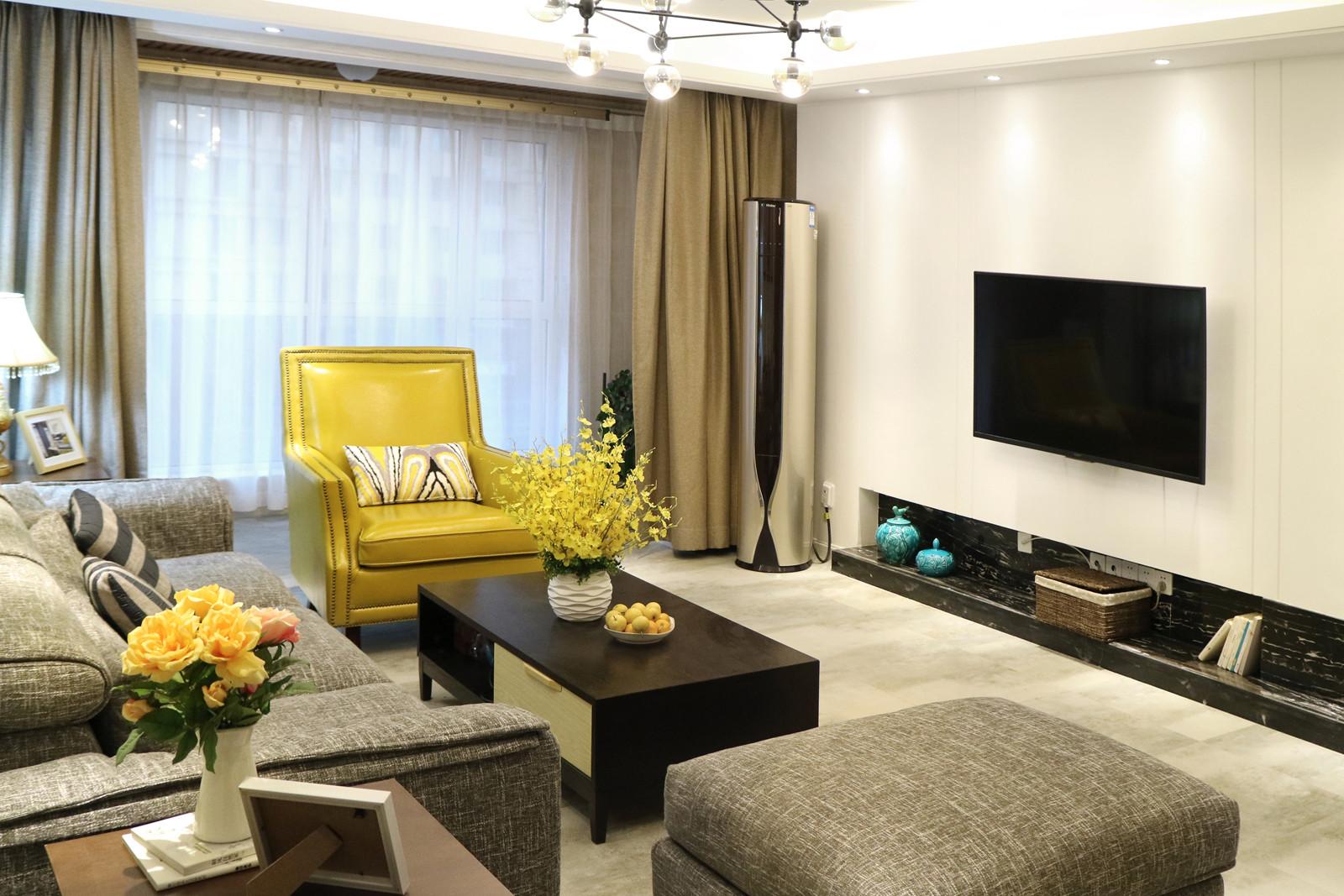 139平简约风格家客厅搭配图