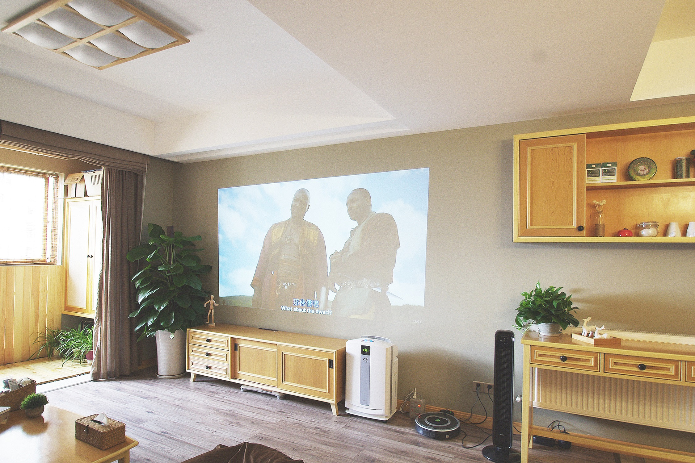 日式三居装修电视柜图片
