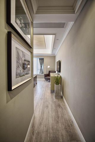 美式公寓装修走道图片