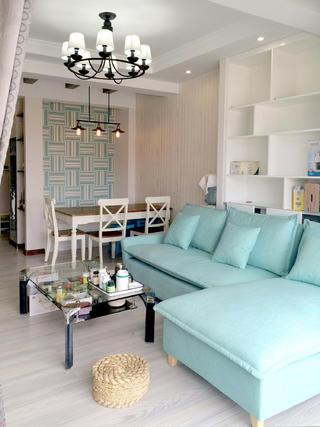 80平二居室设计沙发图片