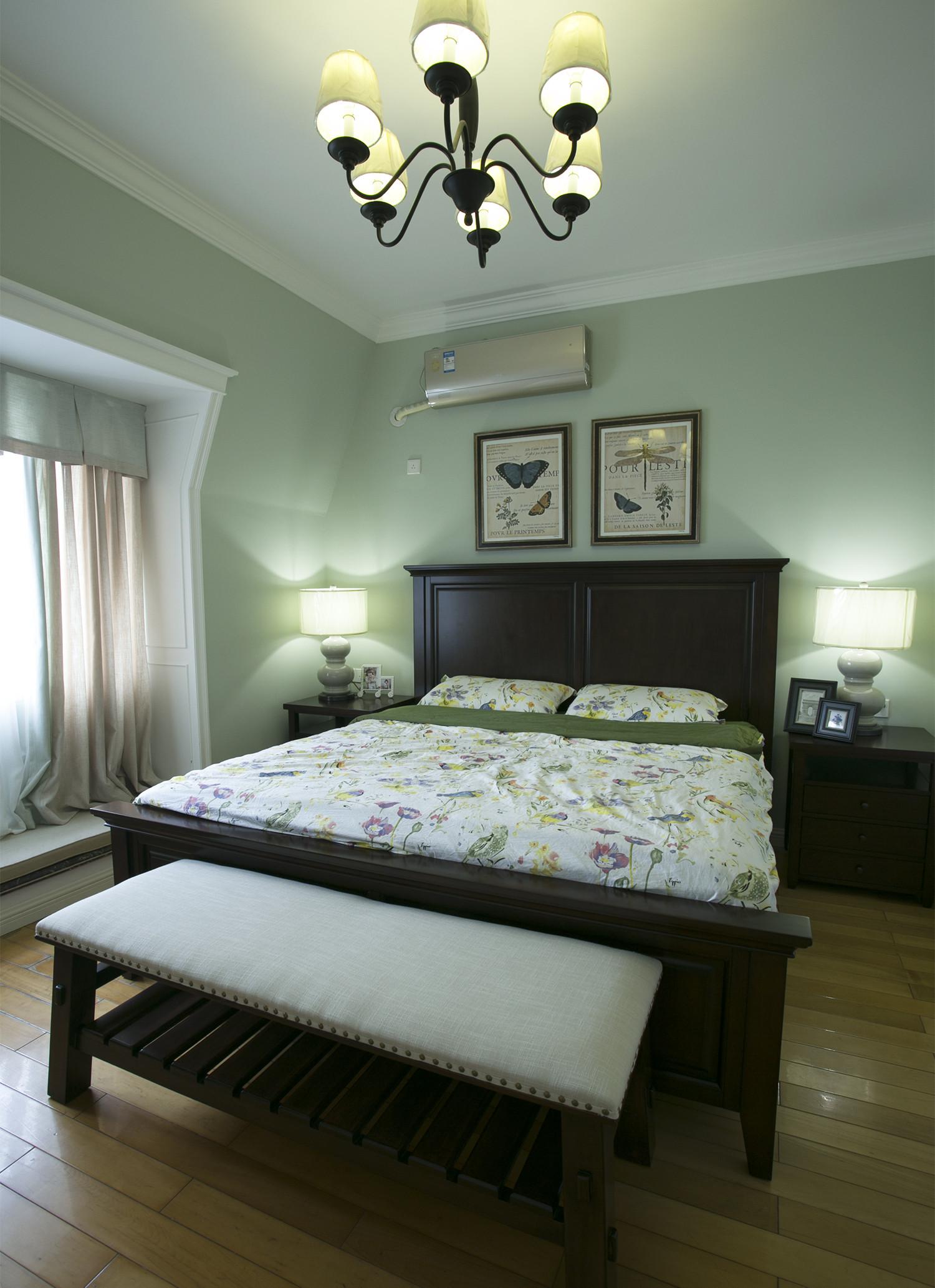 大户型美式风装修卧室设计图