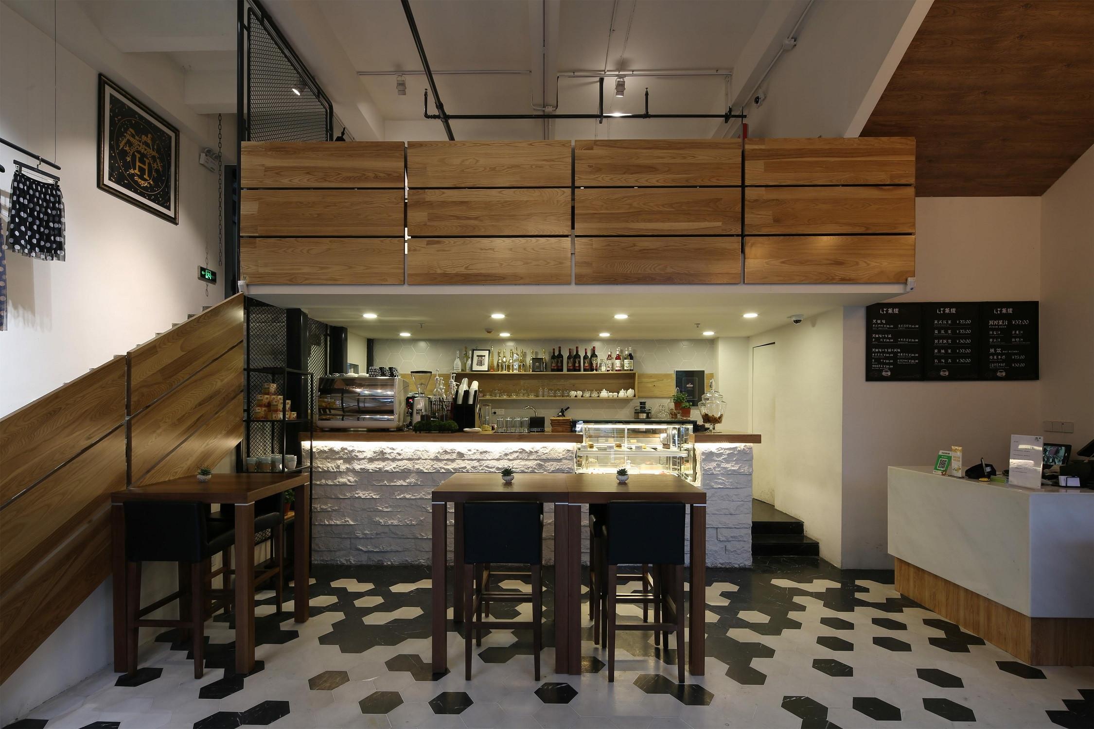 生活咖啡馆装修餐厅区