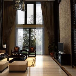 中式别墅装修效果图 中华风韵