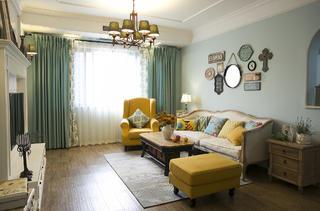 二居室混搭小家客厅搭配图