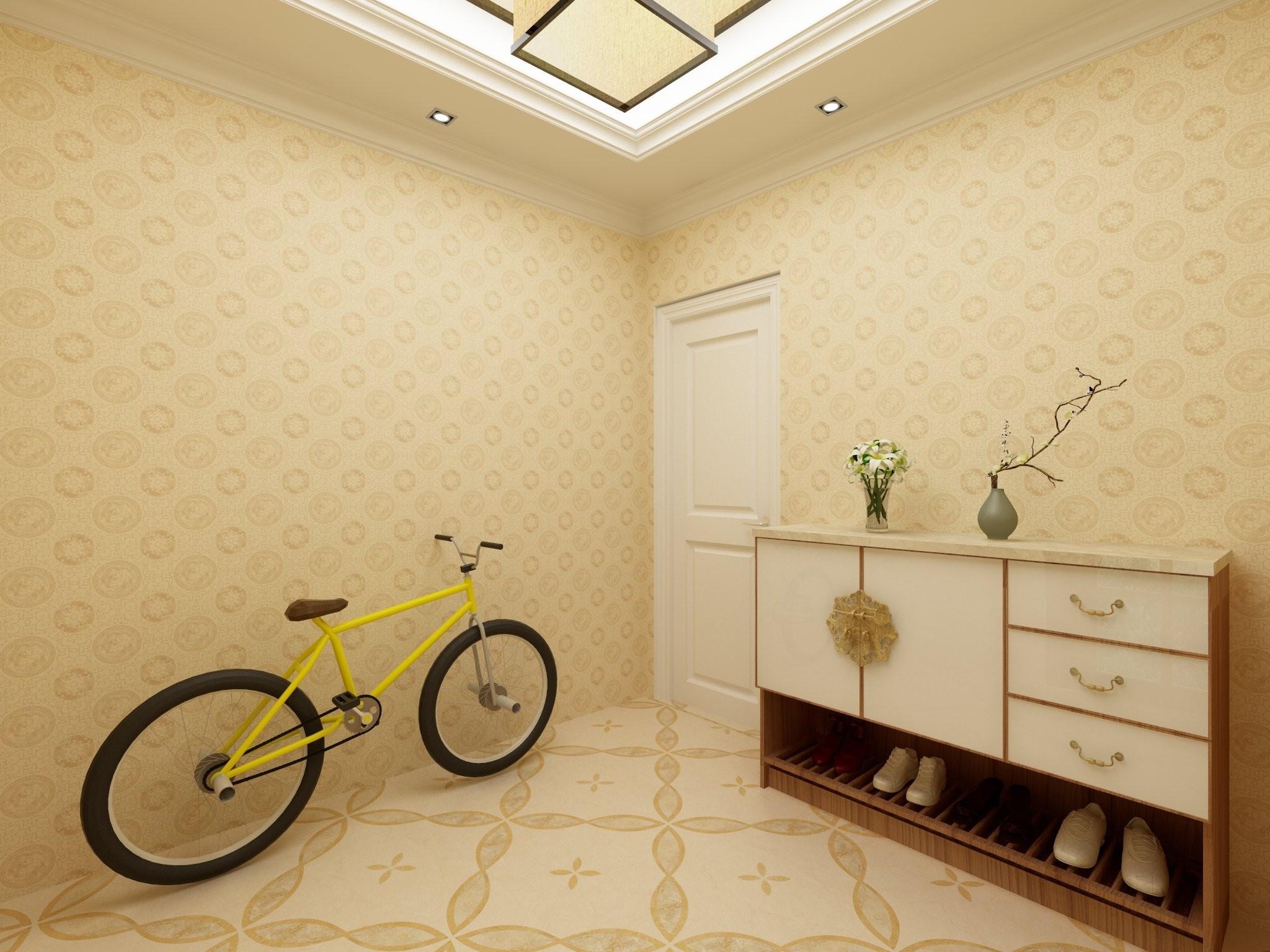 混搭二居装修门厅效果图
