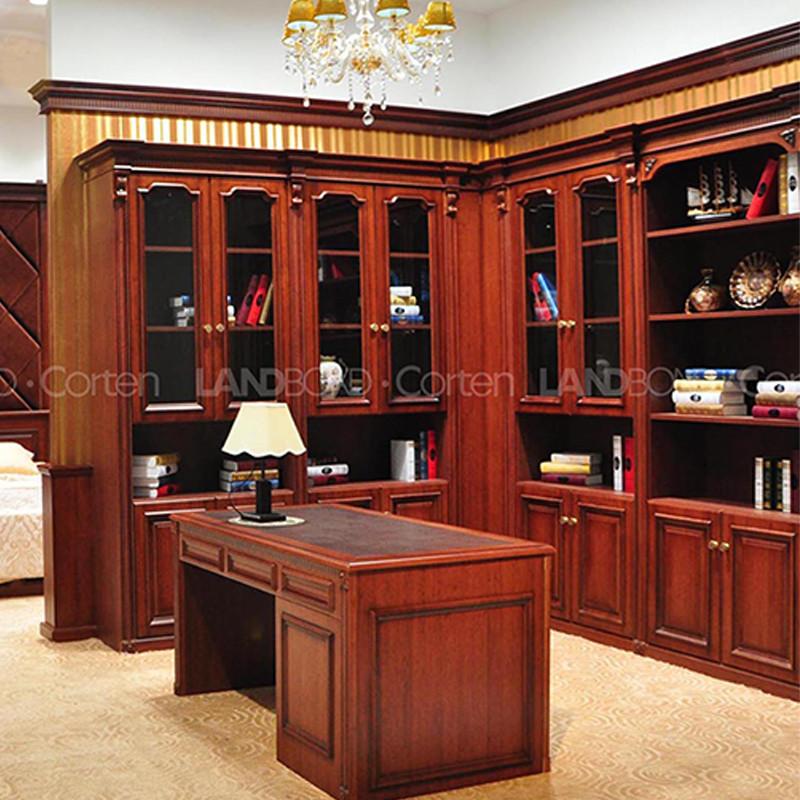 联邦高登定制欧式红爵系列--红爵书柜