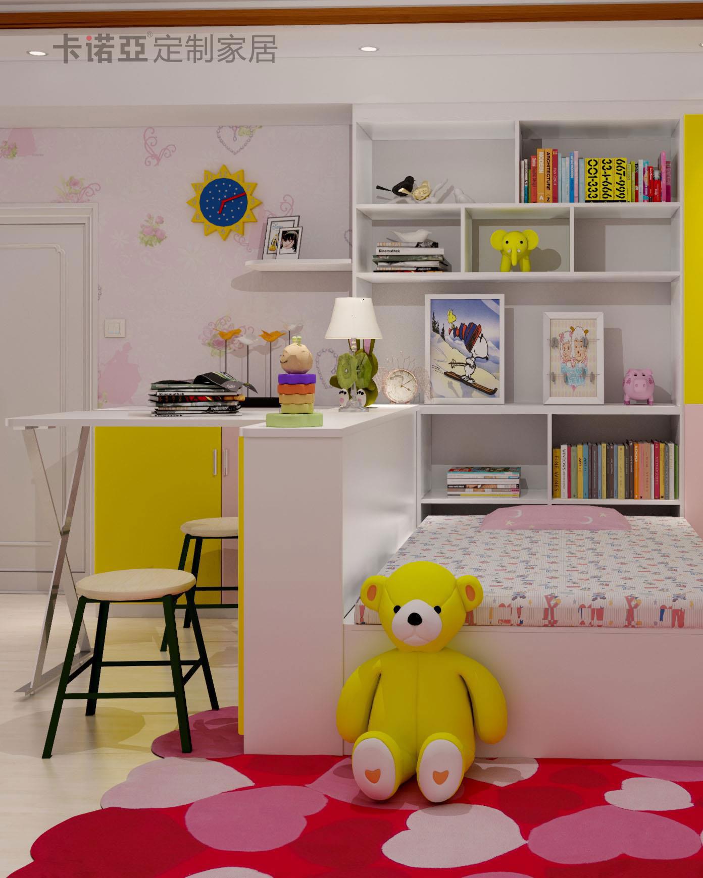 儿童房书柜