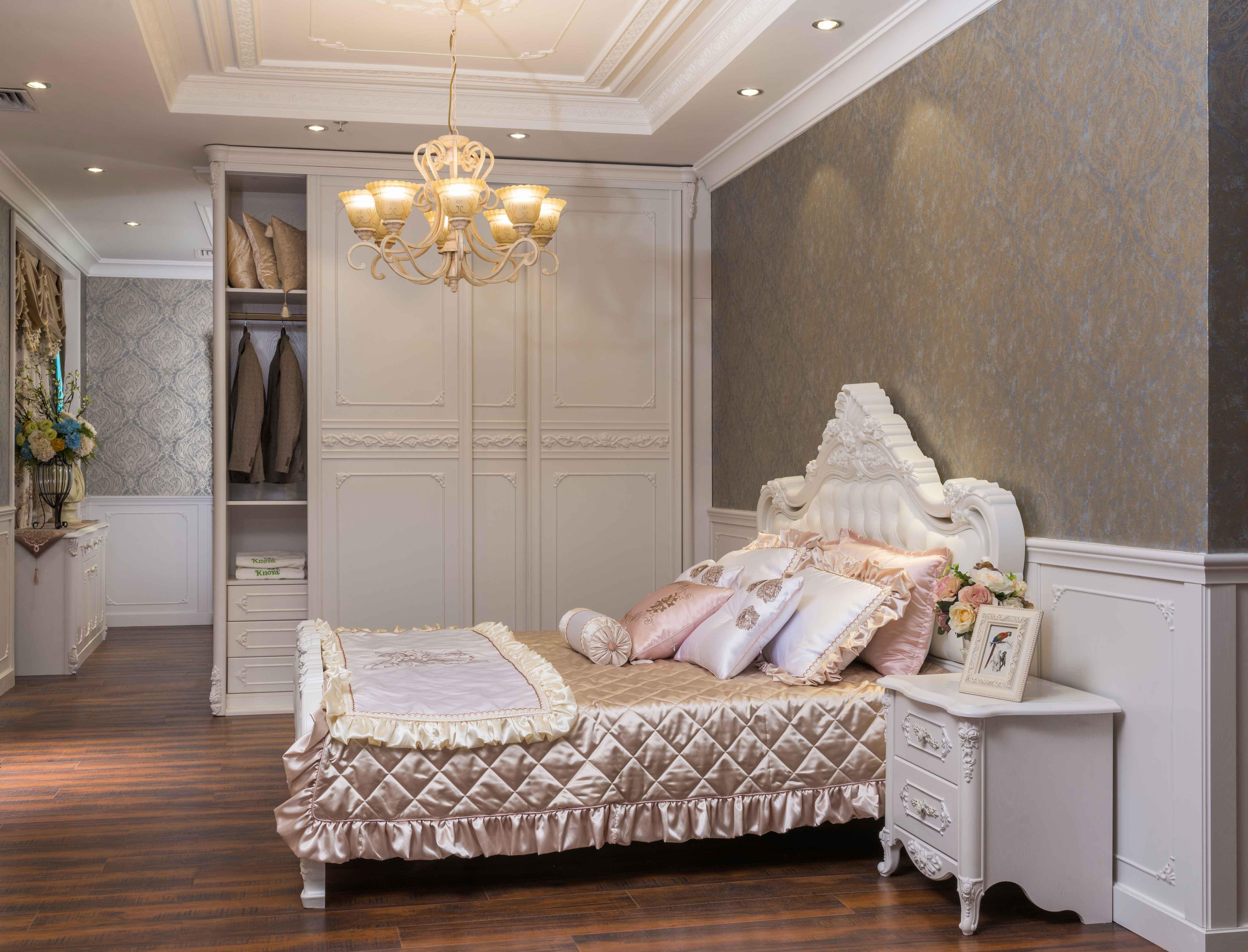 欧式卧房套
