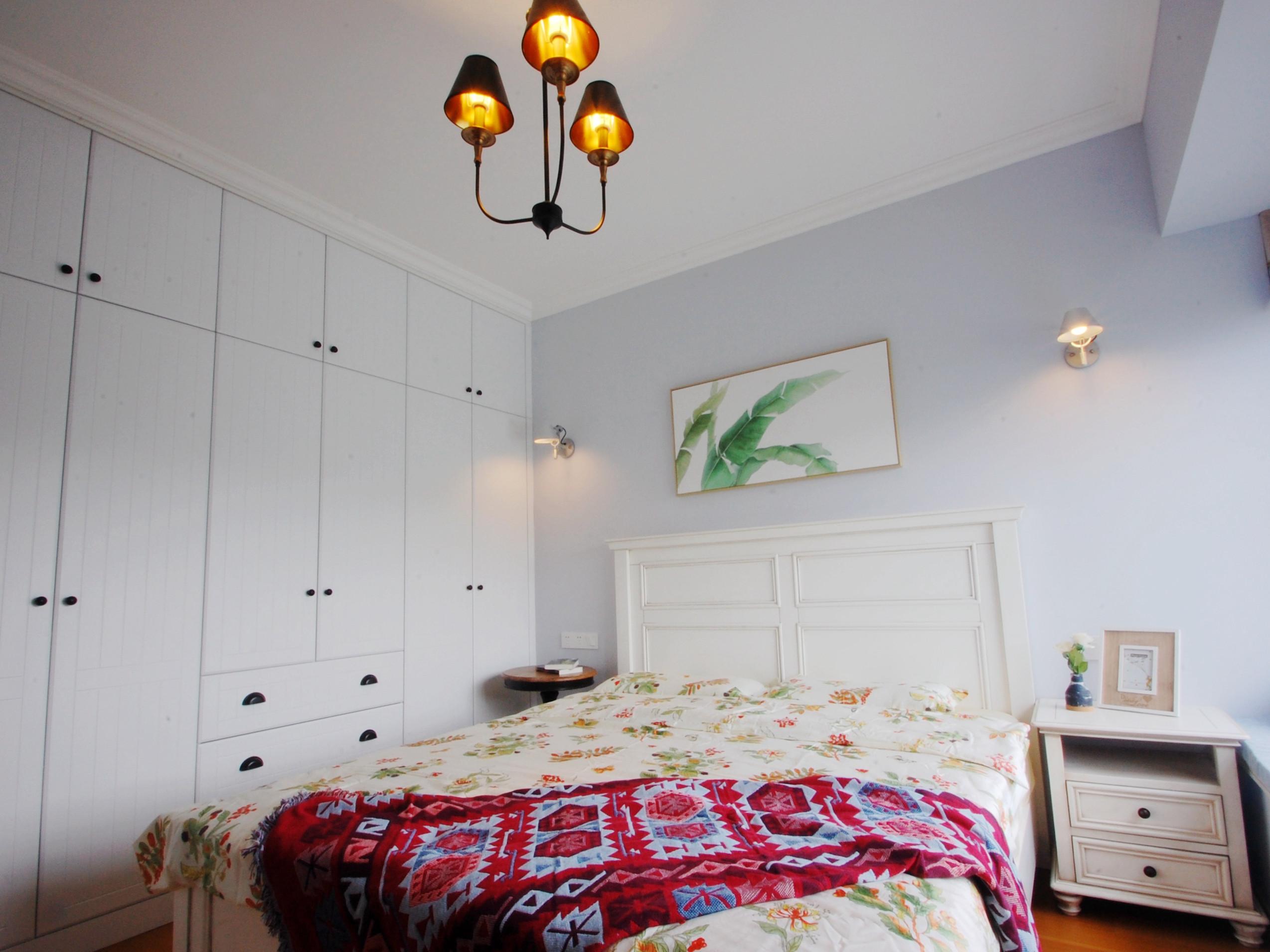装修效果图 家居美图 120平北欧风格家衣柜图片