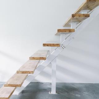 极简猫咪咖啡厅装修楼梯设计