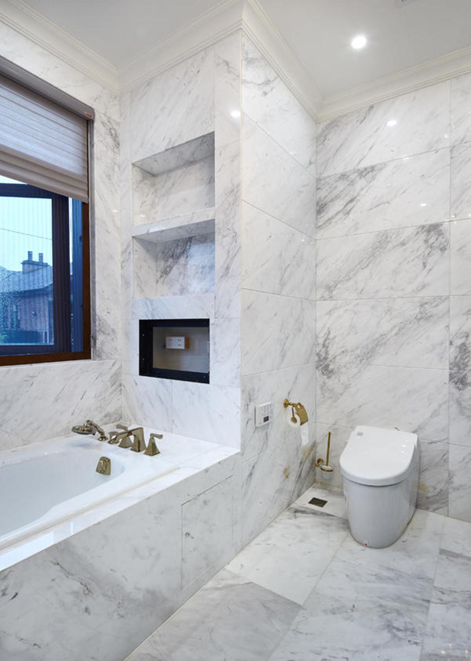 法式别墅装修浴缸图片