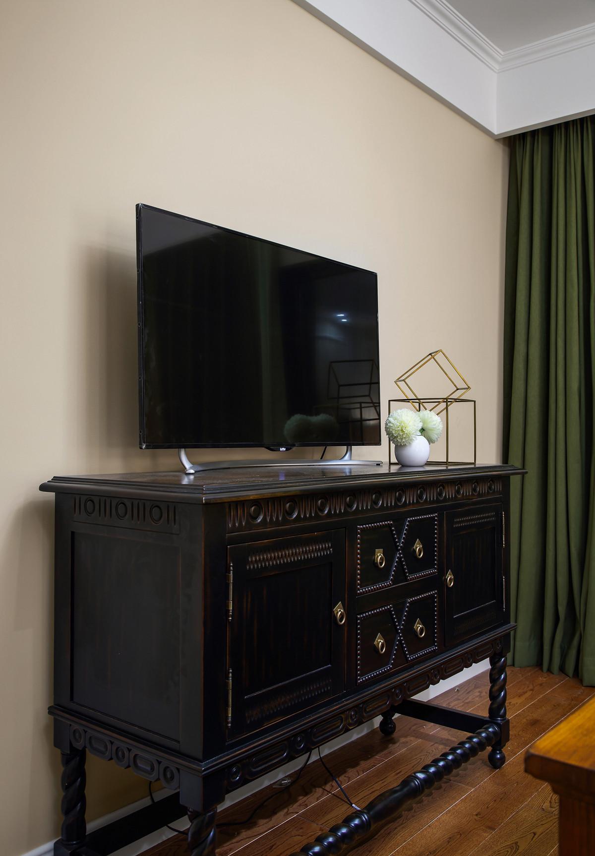 美式四房装修电视柜图片