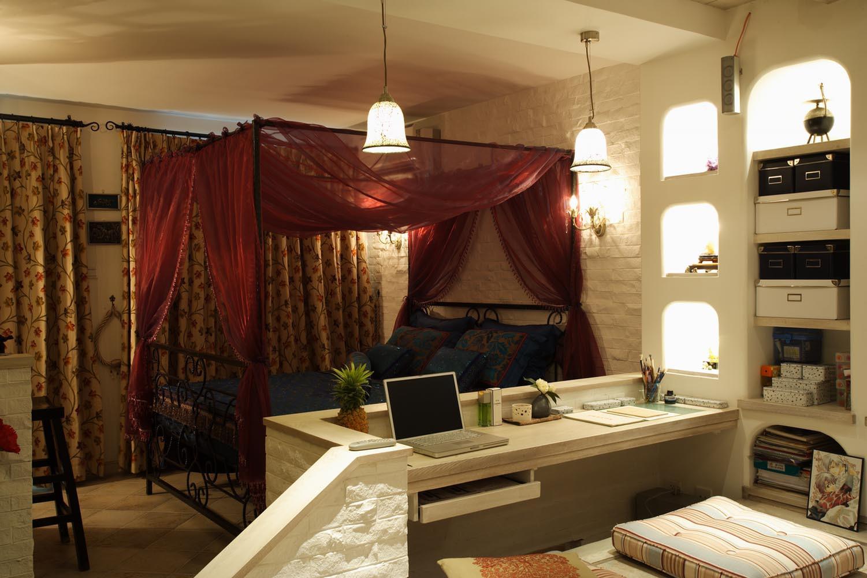 30平小户型装修客厅工作区