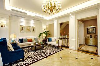 美式别墅装修客厅欣赏图