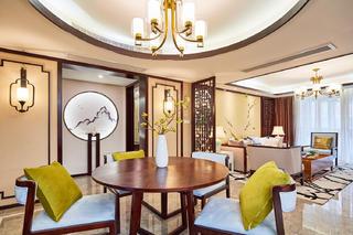 中式三居装修客餐厅欣赏图