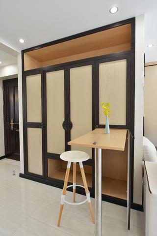 120平中式风格家吧台设计