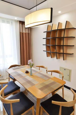120平中式风格家餐桌图片