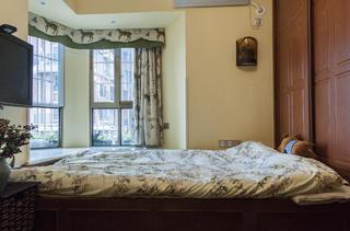乡村美式二居窗帘图片