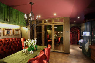 混搭一居装修餐厅设计图