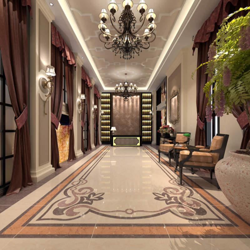 箭牌瓷砖玻化砖客厅地砖抛光砖防滑地板砖皇家珍品