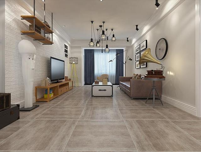 美式客厅地板砖现代仿古砖欧式水泥砖防滑地砖800x80