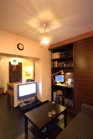 东南亚风格小户型装修客厅布置图