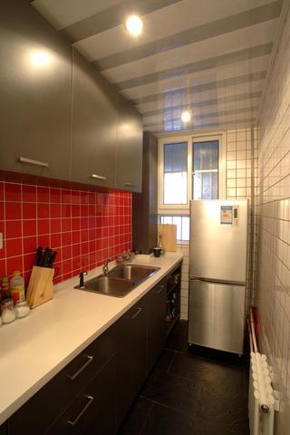 东南亚风格小户型装修厨房设计图