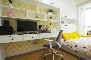 107㎡北欧风格家书桌图片