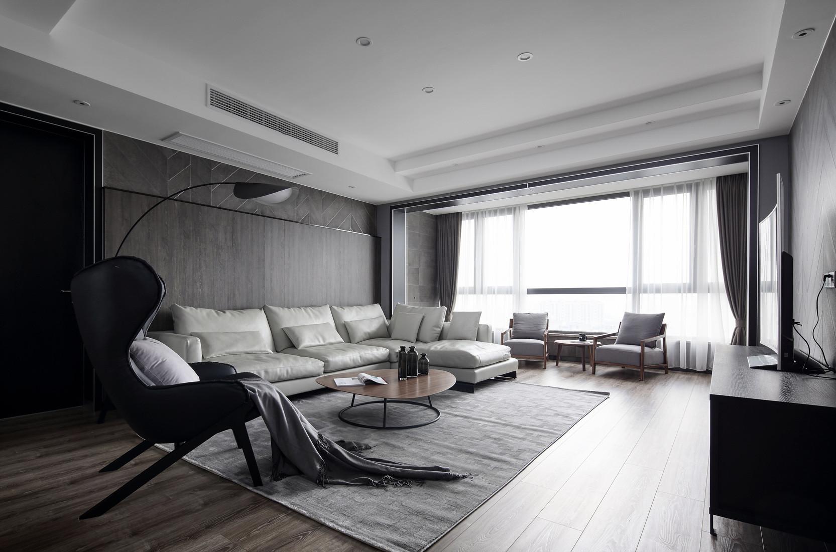 现代二居装修沙发背景墙图片