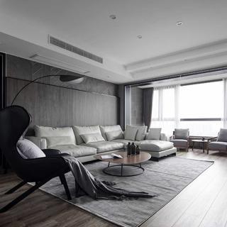 现代二居装修设计 灰度质感
