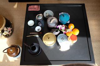 混搭办公室装修茶几图片