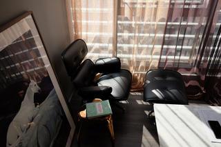 混搭办公室装修书房休闲一角