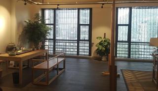 中式风办公室设计茶室图片