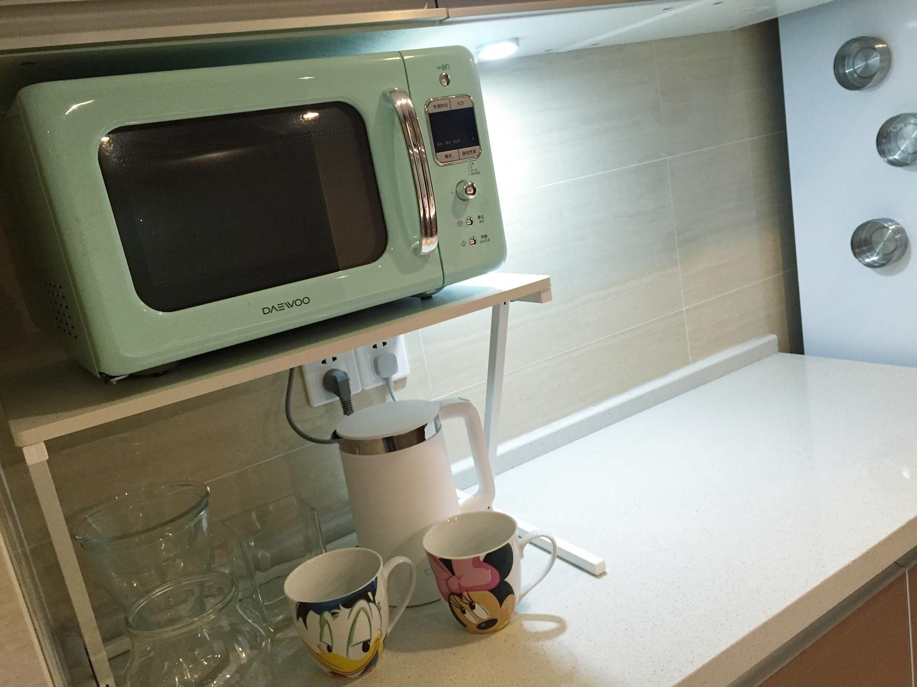 北欧二居室装修厨房一角