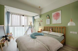 北欧混搭三居儿童房设计图
