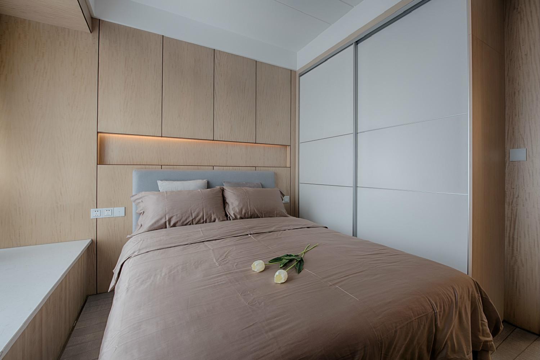 130平现代简约家次卧设计图
