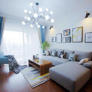 北欧二居室装修设计实景图