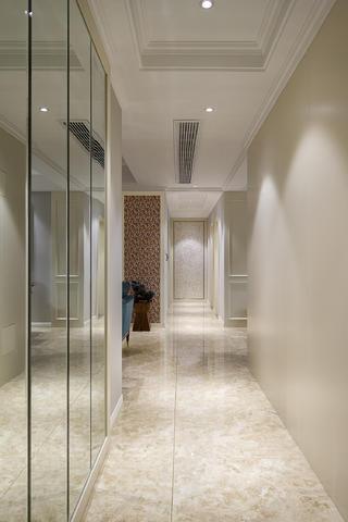 100平三居装修走廊图片