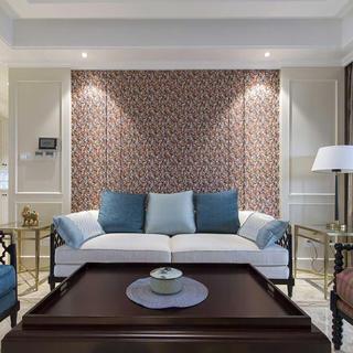 100平三居装修设计 简洁淡雅