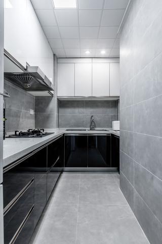 北欧二居装修厨房布局图