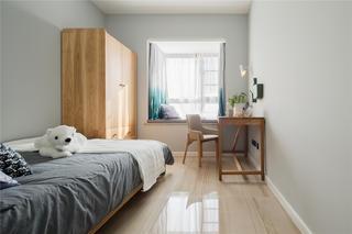 现代简约三居之家次卧设计图