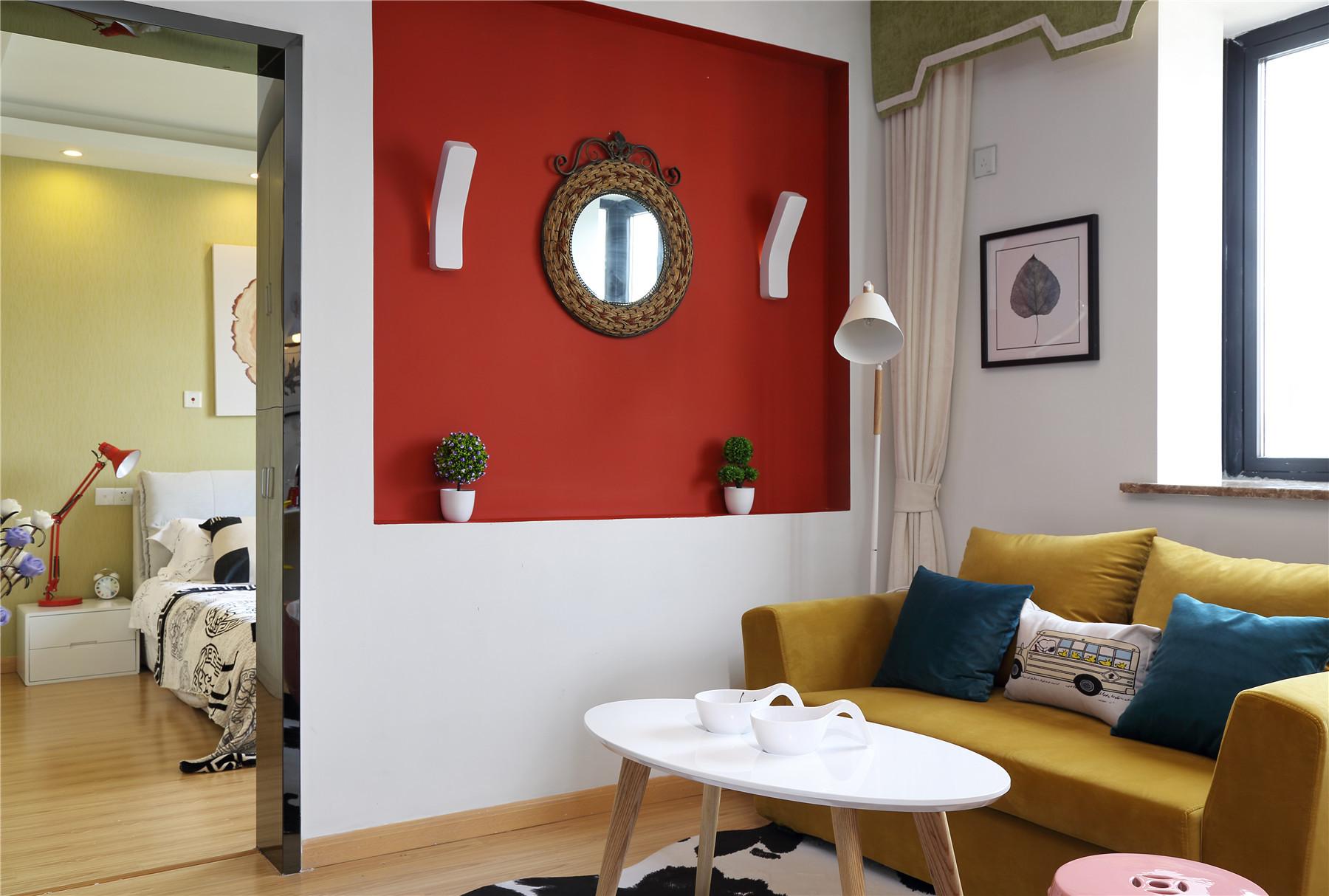 一居室北欧小家墙面设计