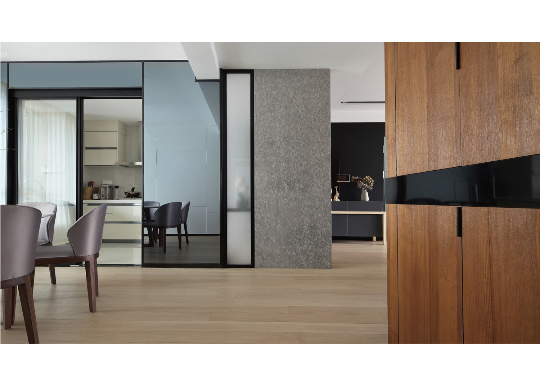 大户型装修厨房墙面设计