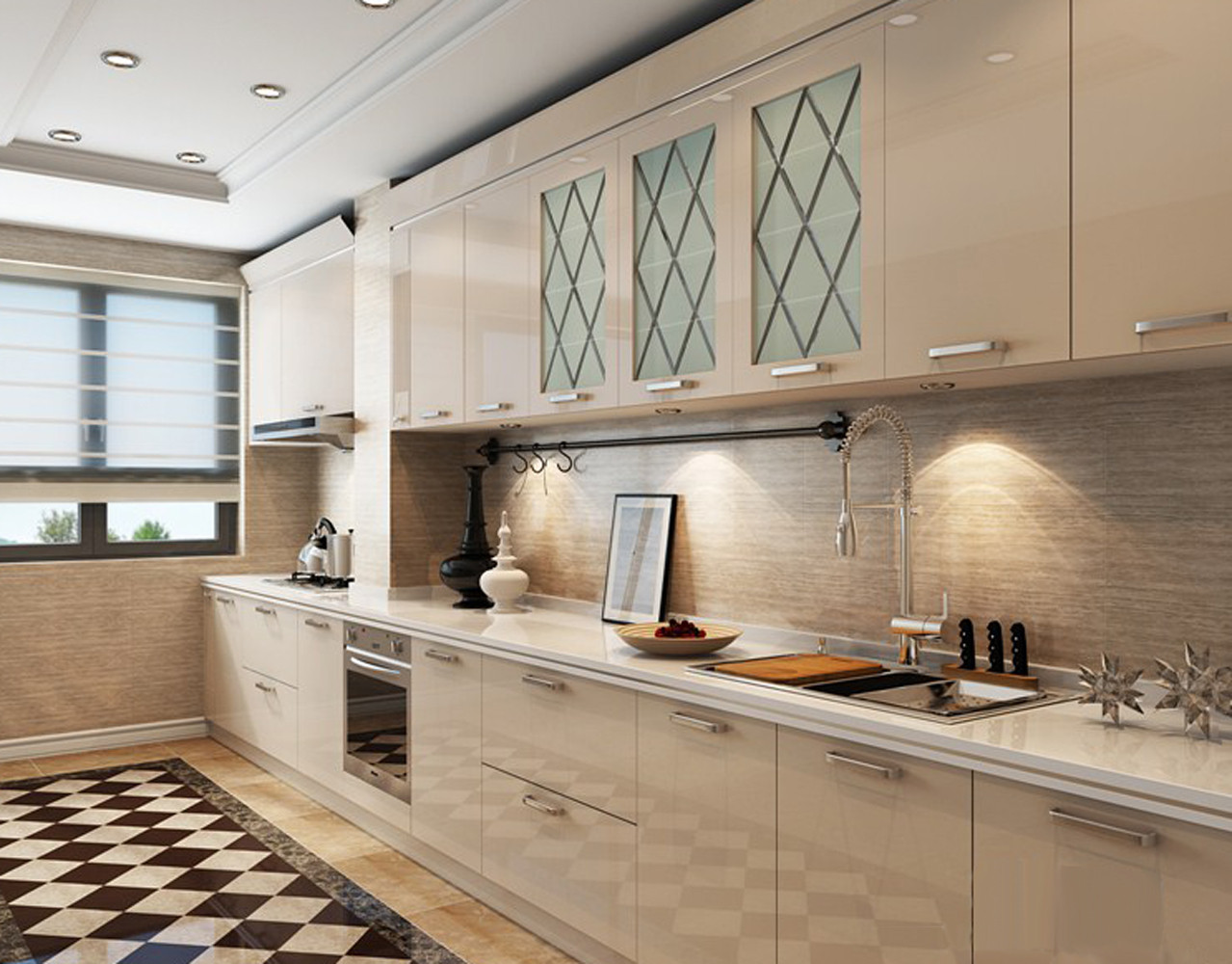 北欧三居装修厨房参考图