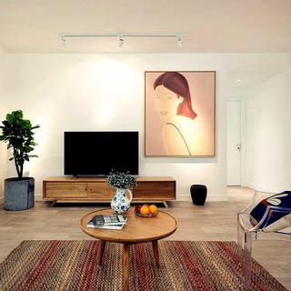 北欧风格三居室装修设计 赐白