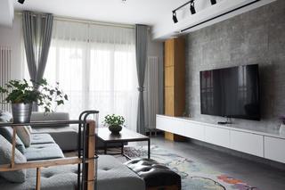 110平Loft风格装修客厅设计图
