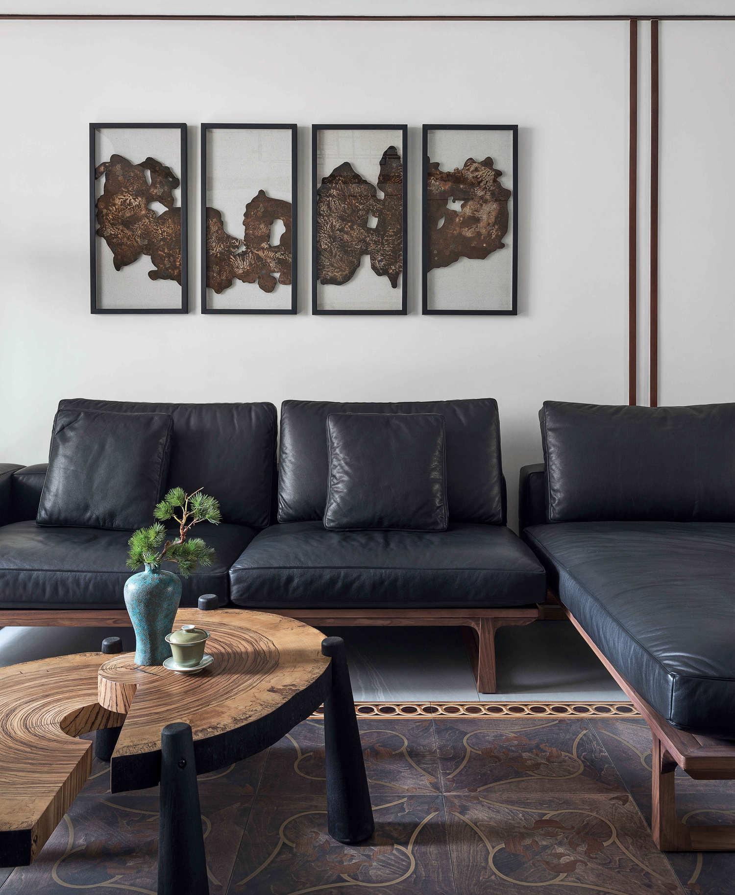大户型中式装修沙发图片