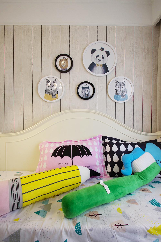 美式四居装修儿童床品